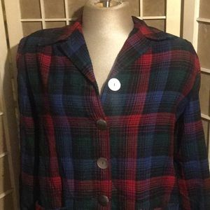 Vintage 1960s Pendleton Tops - RARE 1960s Pendleton Plaid Jacket